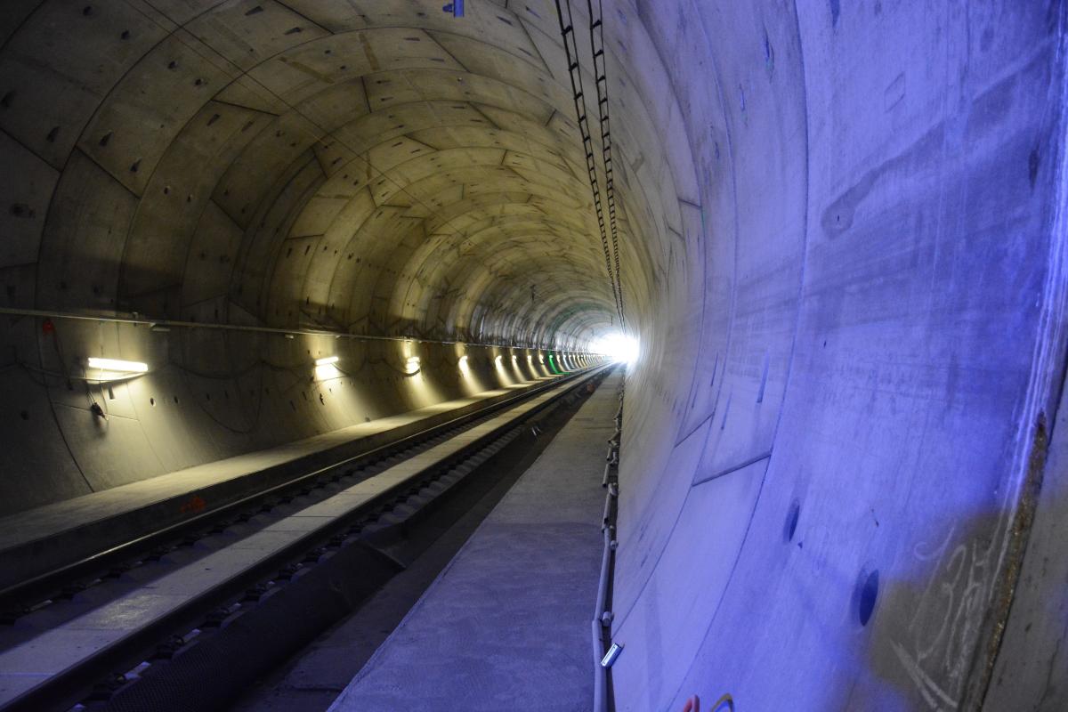 Správa železnic otestovala rychlost 200 km/h v Ejpovickém tunelu