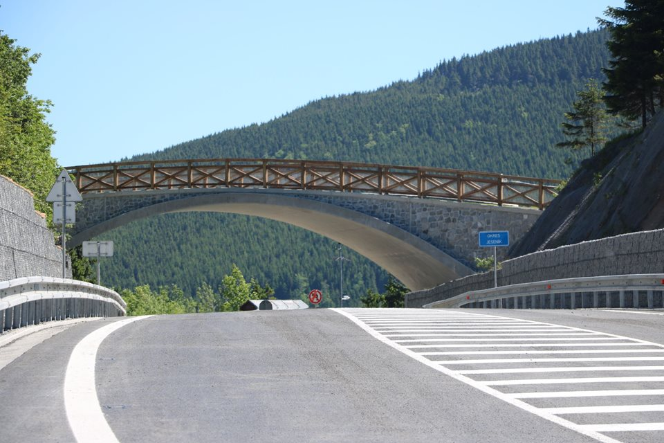 A safer road to the Červenohorské sedlo pass has opened