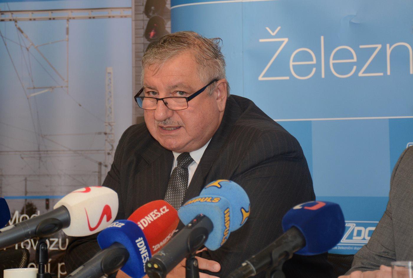 generální ředitel SŽDC Pavel Surý