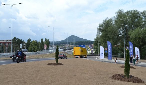 The relocated road I/62 Děčín - Vilsnice has opened for drivers